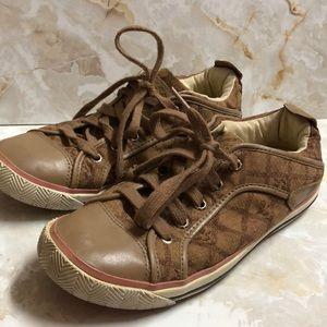 L.A.M.B Gwen Stefani brown sneakers sz 8.5